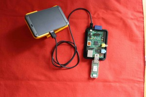 Raspberry Pi with EnOcean USB300