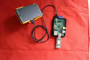 Raspberry Pi with EnOcean USB300