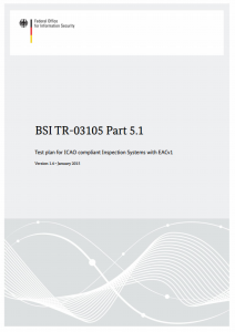Cover of BSI TR-03105 Part 5.1