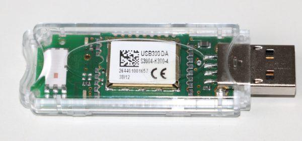 EnOcean USB300 Stick used to send EnOcean telegram