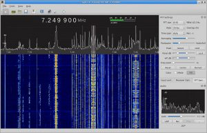 Screenshot of gqrx